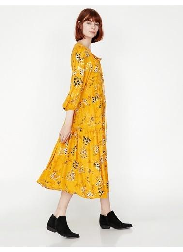 Koton Elbise Sarı